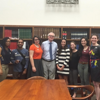 Soho Arts Network Interns Visit the Watson Library at the Met