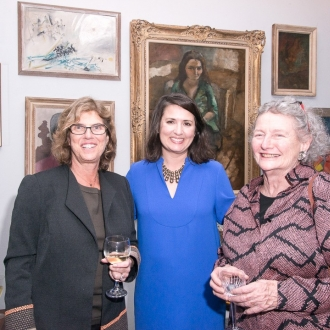 Foundation hosts joint reception with Anne Frank Center USA