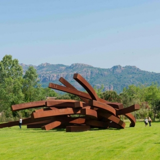 """One Of The Greatest French Living Artists, Bernar Venet"" in Forbes Magazine"
