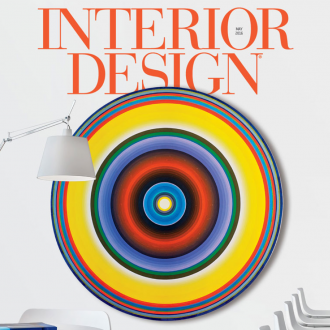 Radiant Space's Gary Lang on the cover of Interior Design Magazine