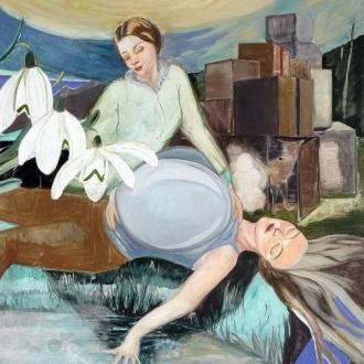 The Artist Making Paintings That Are Part Fairy Tale, Part Propaganda