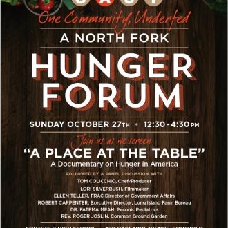 A Hunger Forum