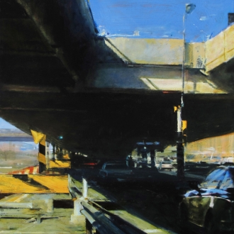 Ben Aronson in Urban Banality at The San Diego Museum of Art