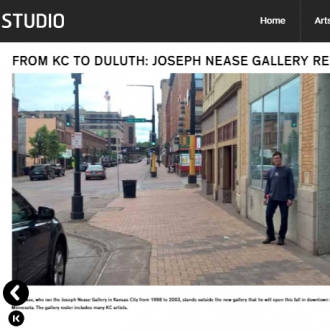 September 1, 2017: KC Studio covers the gallery