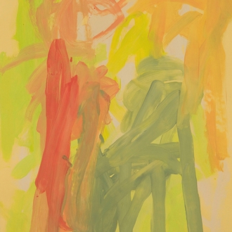 Leah Durner: Paintings on Italian Colored Paper