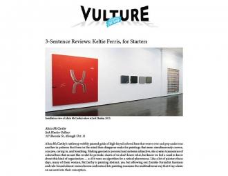 Jerry Saltz for Vulture