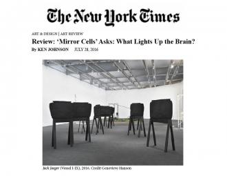 Elizabeth Jaeger in New York Times