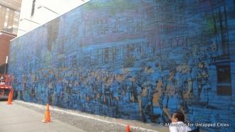 untapped NY | Logan Hicks mural on Bowery