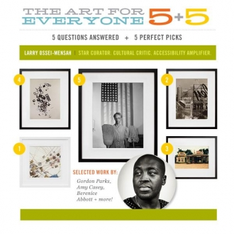 MOCAD's Larry Ossei-Mensah names Kennedy Yanko, David Shrobe, and Basil Kincaid as progressive artists to keep an eye on.