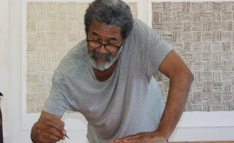 Viewpoints artist McArthur Binion profiled in Artspace