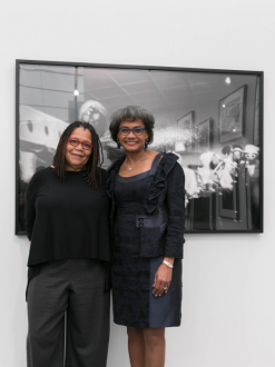Jenkins Johnson Gallery's solo presentation of Ming Smith wins prize