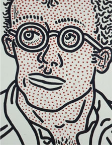 Keith Haring Skarstedt Publication Book Cover