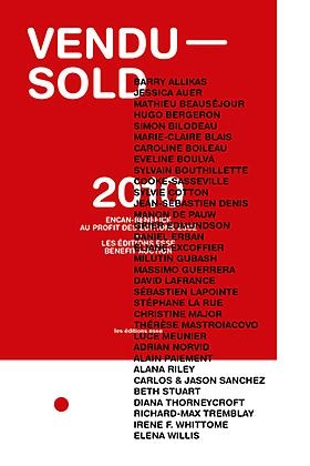 """JESSICA AUER TO APPEAR IN """"VENDU - SOLD"""" AN AUCTION TO BENEFIT MONTREAL'S ESSE MAGAZINE ON NOVEMBER 17, 2010"""
