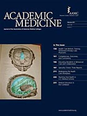 CINDY STELMACKOWICH ON THE COVER OF ACADEMIC MEDICINE