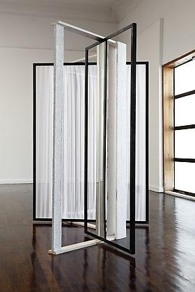 Heather Rowe in Steel Life, at Michael Benevento