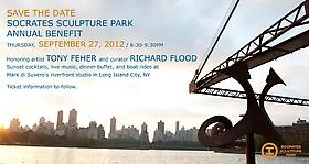 Socrates Sculpture Park Annual Benefit, honoring Tony Feher and curator Richard Flood