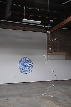Tony Feher in Streams of Consciousness, at the Salina Art Center, Salina, KS