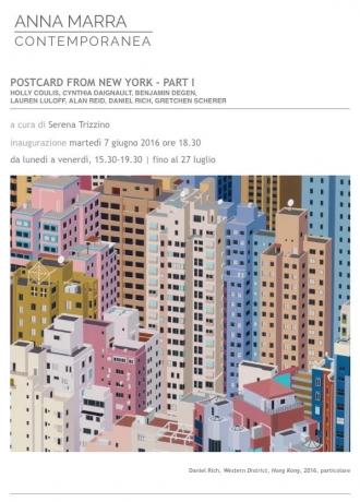 GRETCHEN SCHERER in POSTCARD FROM NEW YORK- PART 1 (Group Show)