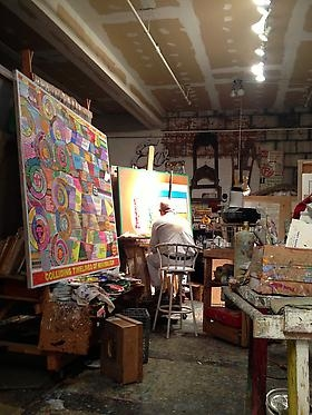 Loren Munk featured on Pencil in the Studio
