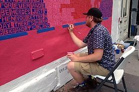 Bloomberg covers Erik den Breejen's mural for Rag & Bone