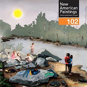 Kent Dorn featured on the cover of New American Paintings Issue #102 (West Issue)
