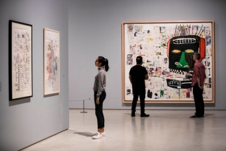 Basquiat: Boom for Real is most popular show in Barbican's history
