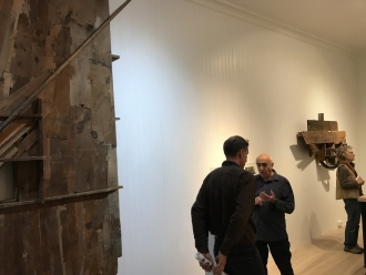 artist Paul Bowen discusses his work, Rafter