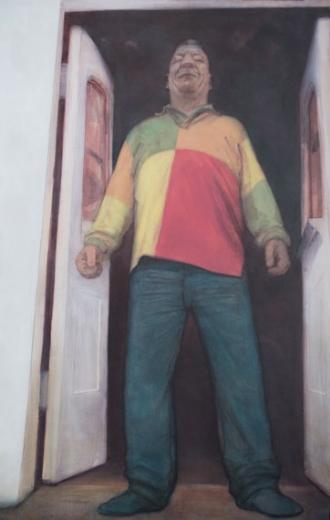 Ray Richardson AKA Irish Frank painting peinture