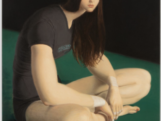 Jansson Stegner's hyperreal paintings of strong women invert gender roles and challenge identity and power