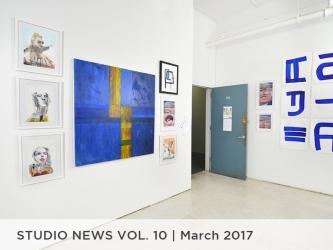 Studio News Vol. 10 March 2017