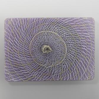 Extroverre Purple, Black, and White