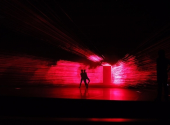 Li Hui: Faust II – Erlösung!, Ballett Dortmund Theater, Dortmund, Dortmund, Germany (Light Installation)