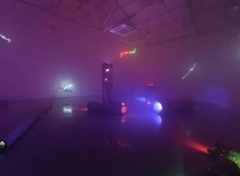 "Lu Zhengyuan: ""Light – New Media Art Festival,"" Hu Ran Museum, Bao Ji, China (Group exhibition)"
