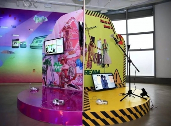 "Ye Funa: ""Digital Samplers, or A New Generation Deep Dive into Internet Superposition,"" The Galaxy Museum of Contemporary Art, Chongqing, China (group exhibition)"
