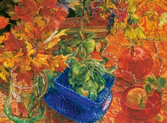 Janet Fish: Pinwheels and Poppies
