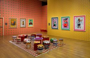The Boston Globe reviews Hassan Hajjaj