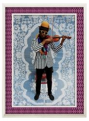 Hassan Hajjaj in 'No Commission' Art Fair in London