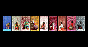 "Preview of Hassan Hajjaj's ""My Rock Stars Experimental, Volume 1, 2012"" on View at LACMA"