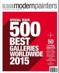 Blouin Modern Painter's 500 Best Galleries Worldwide 2016