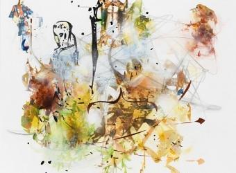 Matthew Ritchie at ADAA: The Art Show
