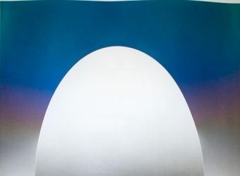 LARRY BELL, ELIN 31 (Ellipse Insert), 1981
