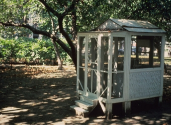 Tourist Cabin with Folded Bed