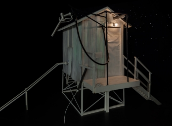 Studies for Little Tube House and the Night Sky