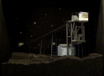 Taconite Tower and the Night Sky & Related Gouaches