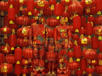 "Liu Bolin: ""East Wing Biennial: INTERACT,"" The Courtauld Institute of Art, Somerset House, London, England (group exhibition)"