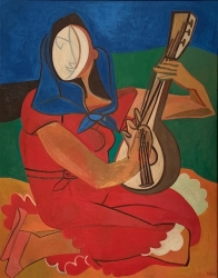 Francoise Gilot  RED: Paintings from the 1950's to the present