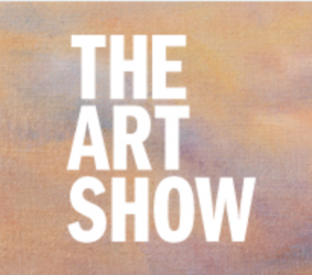 A logo that says ' The Art Show'