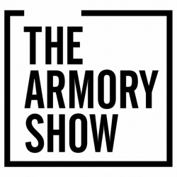 a logo which says 'The Armory Show'