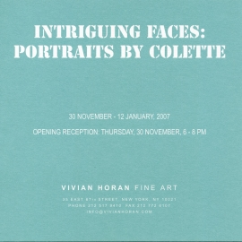 Intriguing Faces: Portraits by Colette