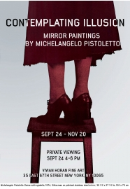Contemplating Illusion: Mirror paintings by Michelangelo Pistoletto